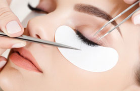Eyelash Extensions And Tint